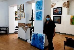 Group exhibition Junt Arte. Espacio Cultural Abierto. Madrid 14th April 2021.
