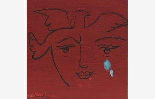 Cara Picassiana con Lágrimas I