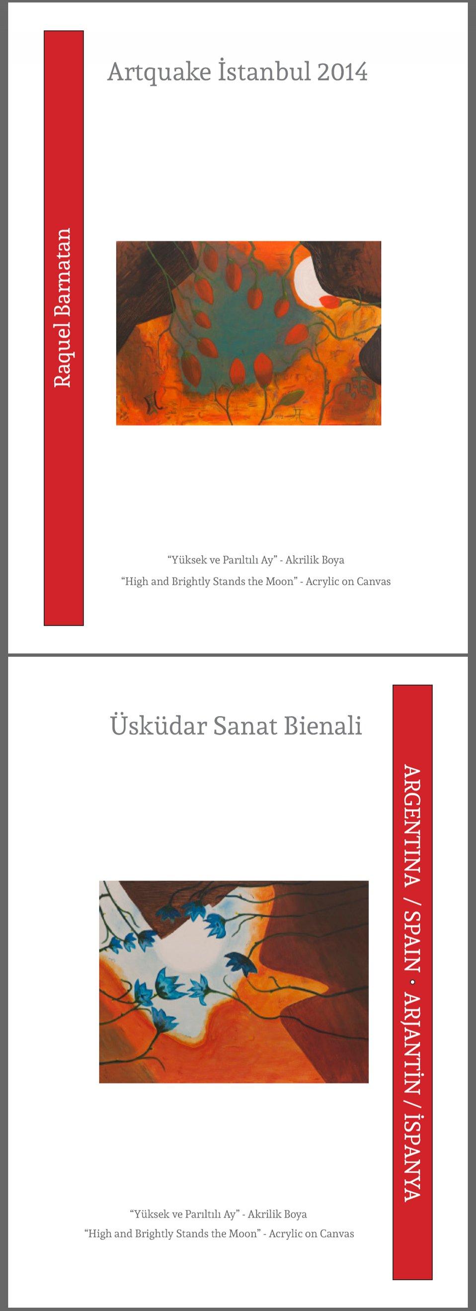 Catálogo de la Bienal Artquake Estambul