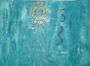 Diosa con Serpiente