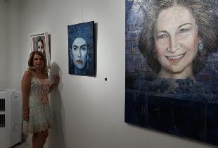 Exposición Retratos. Galería Santana Art. Agosto 2019
