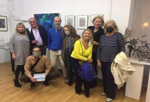 Exposicion colectiva Junt Arte. Espacio Cultural Abierto. Madrid. 14 de Abril 2021.