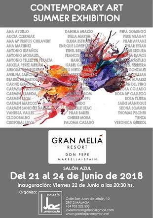 Contemporary art summer exhibition