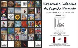 exposición colectiva organizada por la GALERIA JAVIER ROMAN