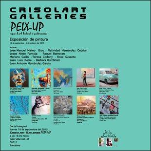 Exposición galería Crisolart