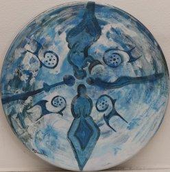 Gaia y sus Diosas I · Pintora Estambul · Raquel Barnatán