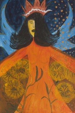 La Diosa Fortuna · Pintora Estambul · Raquel Barnatán